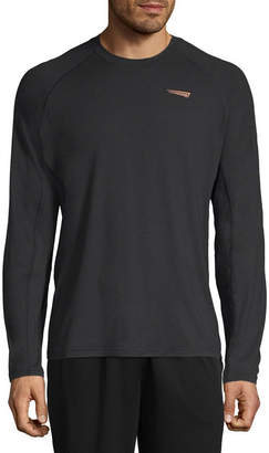 COPPER FIT Copper Fit Mens Crew Neck Long Sleeve T-Shirt