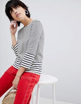 Warehouse Long Sleeve Stripe T-Shirt
