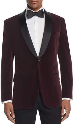 Hart Schaffner Marx Textured Velvet Jacket $695 thestylecure.com