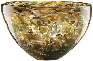 Lenox Seaview Art Crystal Tortoise Medium Bowl