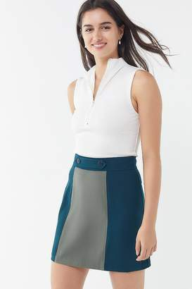 Urban Outfitters Colorblock Mini Skirt