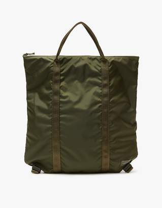 Flex 2Way Tote Bag in Olive