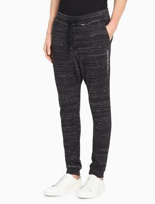Calvin Klein contrast logo sweatpants