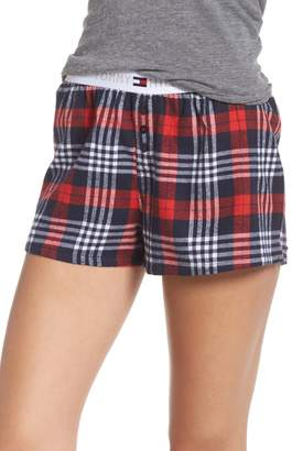 Tommy Hilfiger Plaid Pajama Shorts