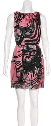 Robert Rodriguez Silk Mini Dress w/ Tags