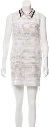 Jason Wu Grey by Printed Silk Dress