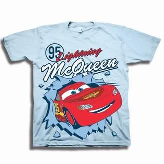 Disney Pixar Cars Disney Cars Toddler Boys' #95 Lightening McQueen Pop Out Short Sleeve Graphic T-Shirt