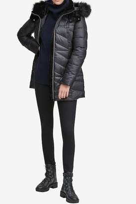 Andrew Marc Shirley Faux-Fur Hood Parka