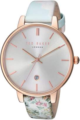 Ted Baker Women's 'KATE' Quartz Stainless Steel and Leather Casual WatchMulti Color (Model: TEC0025003)