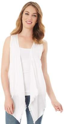 Apt. 9 Women's Gauzy Asymmetrical Cardigan
