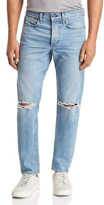 Rag & Bone Fit 1 Super Skinny Fit Jeans in Pylle with Holes