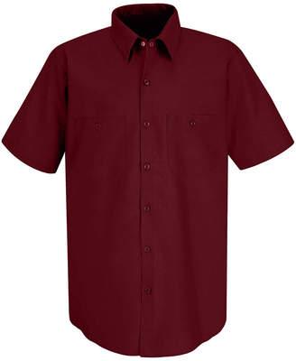 JCPenney Red Kap SP24 Durastripe Shirt-Big & Tall