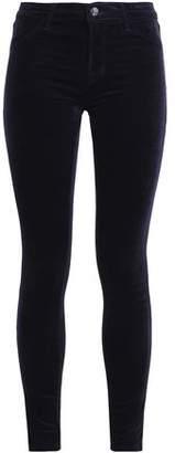 J Brand Velvet Cotton-Blend Skinny Pants