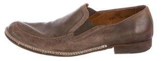 John Varvatos Leather Dress Loafers
