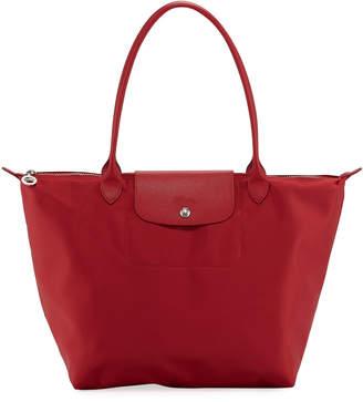 44c4d000539c Longchamp Le Pliage Neo Large Nylon Shoulder Tote Bag