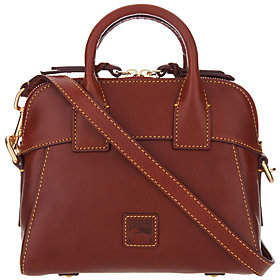 Dooney & Bourke Florentine Leather CrossbodySatchel-Cameron