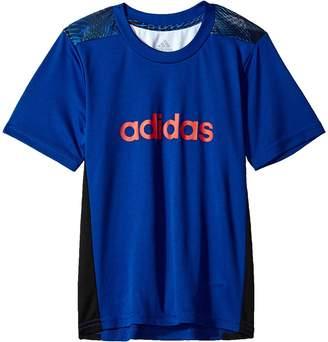 adidas Kids Amplified Net Training Top Boy's Clothing
