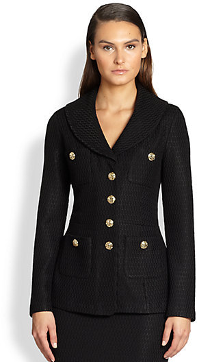 St. John Shawl Collar Jacket