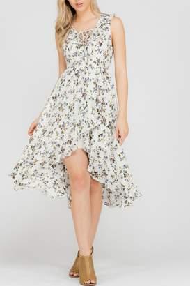 Adeline Floral High-Low Dress