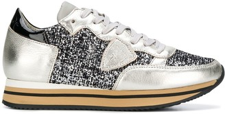 Philippe Model glitter Tropez sneakers