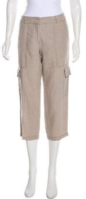 Eileen Fisher High-Rise Cropped Pants