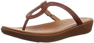 5ad50a87e014 FitFlop Women s STRATA Toe-Thong Sandals-Leather Flip-Flop