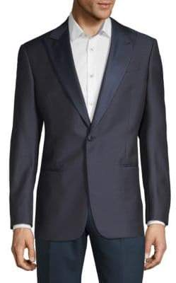 Giorgio Armani Wool-Blend Suit Jacket