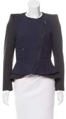 Schumacher Wool-Blend Asymmetrical Jacket