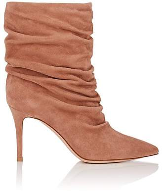 Gianvito Rossi Women's Cecile Suede Ankle Boots