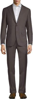 Canali Pinstripe Wool Suit