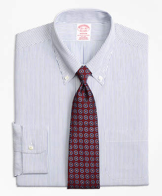 Brooks Brothers Madison Classic-Fit Dress Shirt, Non-Iron Pinstripe
