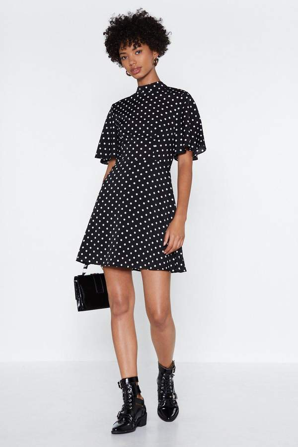 nastygal Spot the Difference Skater Dress