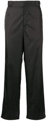Prada flared straight-leg trousers