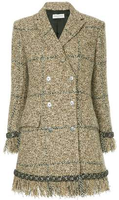 Sonia Rykiel double-breasted tweed coat