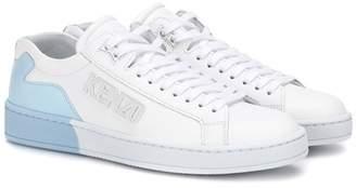 Kenzo Tennix leather sneakers