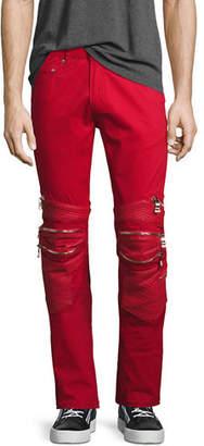 God's Masterful Children Vibrante Skinny Moto Jeans $325 thestylecure.com