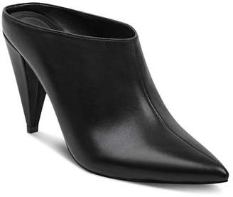 Marc Fisher Women's Harlie Leather High-Heel Mules