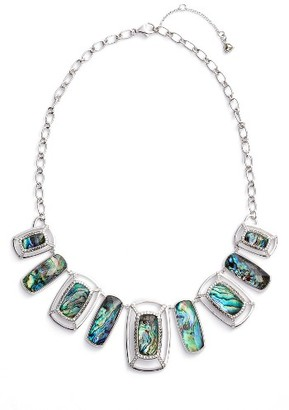 Women's Judith Jack Abalone Frontal Necklace $165 thestylecure.com