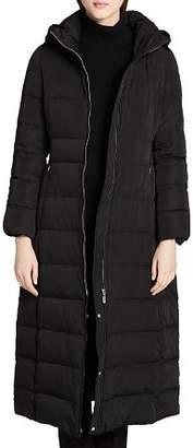 Calvin Klein Hooded Maxi Down Coat
