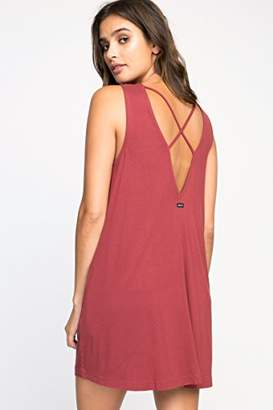 RVCA Women's Tempted High Neck Swing Dress