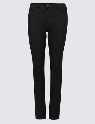 Marks and Spencer Mid Rise Slim Leg Jeans