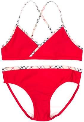 Burberry TEEN two-piece bikini