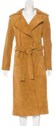 Frame Le Duster Leather Coat