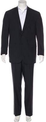 Isaia Striped 150's Wool Two-Piece Suit