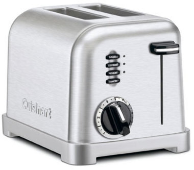 Cuisinart 2-slice Metal Classic Toaster, Brushed Stainless