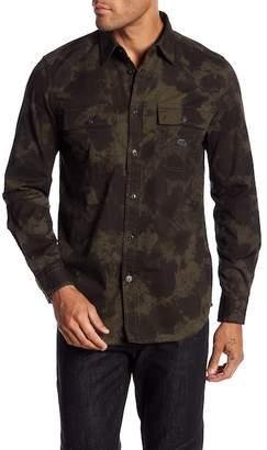 Diesel S-Mun Printed Trim Fit Shirt