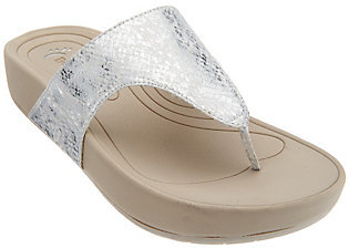 As Is BareTraps Slide Thong Sandals - Galina $14 thestylecure.com