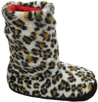 Camilla And Marc J Ann Women Animal Printed Slipper Booties W.Non Slip Skids, Bottom Size: 23-24 Cm