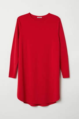 H&M H&M+ Jersey Tunic - Red