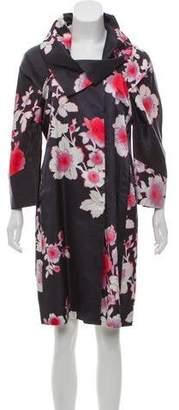Etro Floral Satin Coat